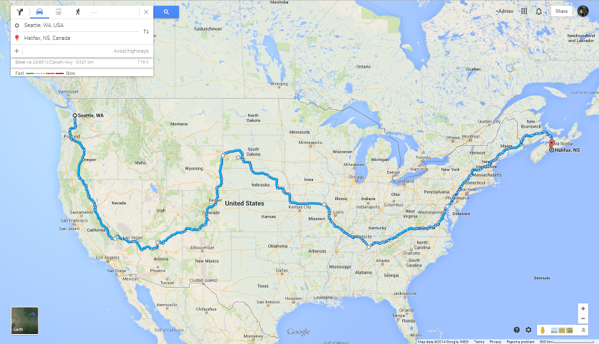 USA Route